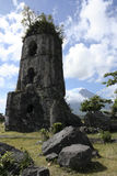 Cagsawa ruins mayon volcano philippines Stock Photography