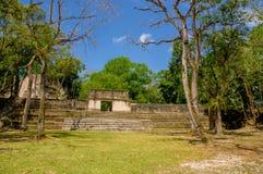 Cahal pech cayo Belize Stock Afbeeldingen