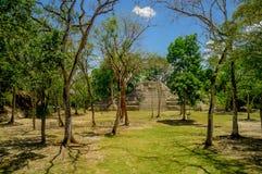Cahal pech cayo Belize Royalty-vrije Stock Afbeeldingen