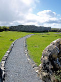 Caherconnell Stone Fort. The Burren Stock Photos