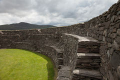 Cahergal ring fort, Ireland Royalty Free Stock Photo