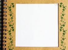 Cahier Photo stock