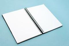 Cahier Photographie stock libre de droits