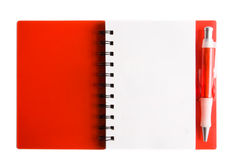 Cahier Photo stock