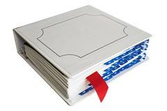 Cahier avec le signet image libre de droits