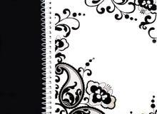 Cahier blanc Image libre de droits