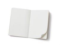 Cahier blanc Images libres de droits