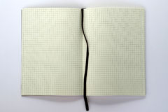 Cahier blanc Photo stock