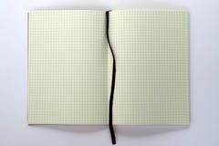 Cahier blanc Photo stock