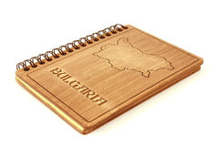 Cahier Bulgarie Images stock