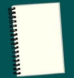 Cahier de croquis Photos libres de droits