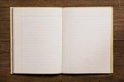 Cahier de cru Images libres de droits