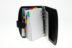 Cahier moderne Photographie stock