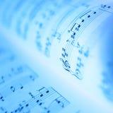 Cahiers de musique Photo libre de droits