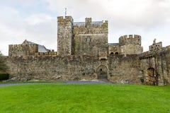 Cahir城堡庭院 免版税图库摄影