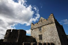 cahir城堡爱尔兰 免版税库存图片
