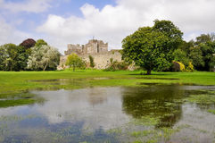 Cahir城堡,爱尔兰 免版税库存图片