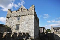 Cahir城堡塔在爱尔兰 免版税图库摄影