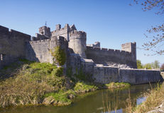 Cahir Castle. Medieval castle at Cahir, Co.Tipperary, Ireland Royalty Free Stock Photo
