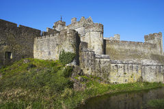 Cahir Castle. Situated on an island on the river Suir in county Tipperary, Ireland Stock Images