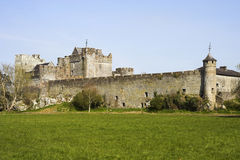Cahir Castle. Situated on an island on the river Suir in county Tipperary, Ireland Royalty Free Stock Photo
