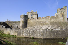 Cahir Castle in Ireland. Cahir Castle (Cathair Dhuin Iascaigh) in County Tipperary, southern Ireland Royalty Free Stock Photography