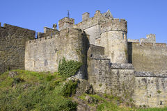 Cahir Castle in Ireland. Cahir Castle (Cathair Dhuin Iascaigh) in County Tipperary, southern Ireland Royalty Free Stock Photos