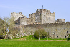 Cahir Castle in Ireland. Cahir Castle (Irish: Cathair Dhuin Iascaigh), well preserved medieval landmark in County Tipperary, Ireland Royalty Free Stock Photography