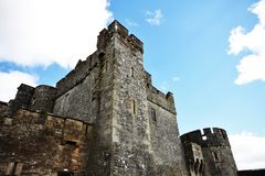 Cahir Castle in Ireland Royalty Free Stock Image