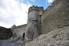 Cahir Castle in Ireland Stock Images