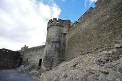 Cahir Castle in Ireland Stock Photography