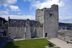 Cahir Castle.The Keep Royalty Free Stock Images