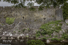 Cahir Castle -1391. Once the stronghold of the powerful Butler family, the castle retains its impressive keep, tower and much of its original defensive structure Stock Images