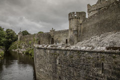 Cahir Castle - 1385. Once the stronghold of the powerful Butler family, the castle retains its impressive keep, tower and much of its original defensive Stock Images