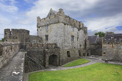 Cahir Castle. One of the largest castles in Ireland Stock Photo