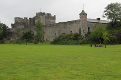 Cahir Castle. One of the largest castles in Ireland, is sited on an island in the river Suir. It was built from 1142 by Conor O'Brien, Prince of Thomond Stock Photos