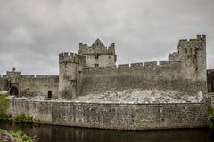 Cahir slott - 1361 Fotografering för Bildbyråer