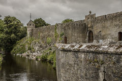 Cahir slott - 1383 Royaltyfri Fotografi