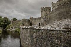 Cahir slott - 1385 Arkivbilder