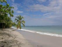 Cahiuta国家公园海滩,哥斯达黎加 免版税库存照片
