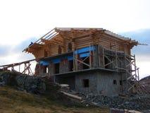 Cahlet под конструкцией на горе Стоковые Фотографии RF