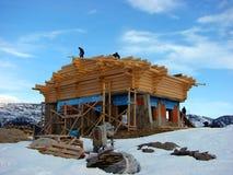 Cahlet под конструкцией на горе Стоковые Изображения RF