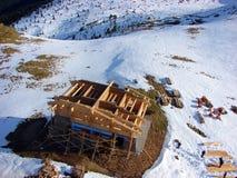 Cahlet под конструкцией на горе Стоковая Фотография