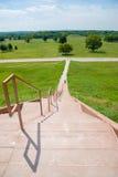 Cahokia kopów Historycznego miejsca schodki Fotografia Royalty Free