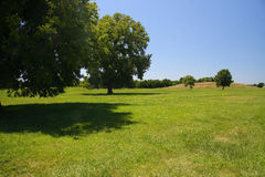 Cahokia mound Stock Photos
