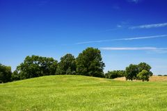 Cahokia mound Royalty Free Stock Photos