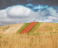 Cahokia mounds Royalty Free Stock Images
