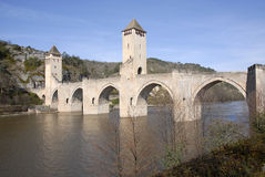 Cahors, Frankreich Lizenzfreies Stockfoto