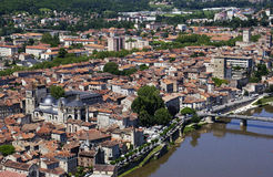 Cahors - Lot - France. The medieval town of Cohors in the Lot region of France Stock Images