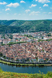 Cahors from Mont Saint Cyr in Lot, France. Royalty Free Stock Photos